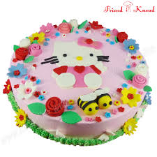 Hello Kitty Cake Order Online Theme Cake In Coimbatore Friend In