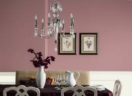 Mauve Bedroom Dining Room In Dusty Mauve Dining Rooms Rooms By Color Color