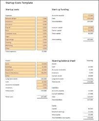 Startup Expense Sheet Startup Expenses Spreadsheet Operating Cost Template Free Expense