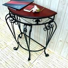 wrought iron side table with marble top sofa for coffee glass round outdoor wood luxury tables