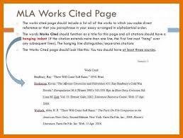 Sample Mla Reference Page Citation Page Example Mla Style Guide Mla Citation Template Mla