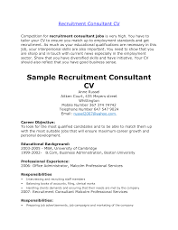 writing services consultant consultant cv example