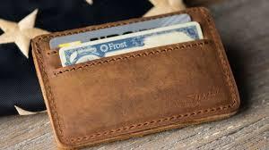 saddleback leather co front pocket wallet