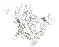 Alice In Wonderland Drawing Tumblr At Getdrawingscom Free For