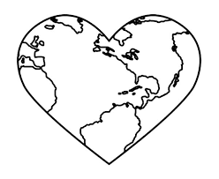 Small Picture Bring Love and Peace on Earth Day Coloring Page Download Print