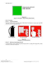 Ansi Z535 Color Chart Ansi Z535 3 2011 Criteria For Safety Symbols