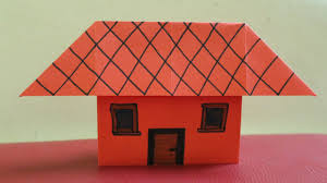 How To Make House With Chart Paper How To Make A Paper House Without Tape Or Glue