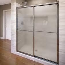 framed sliding bypass shower door