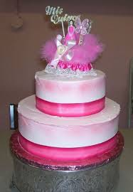 Hot Pink Quinceanera Cake Cakecentralcom