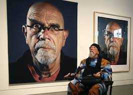 artist chuck close returns to old friends and a show at the sc heraldnet com