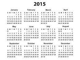 free year calendar 2015 2015 calendar resume templates