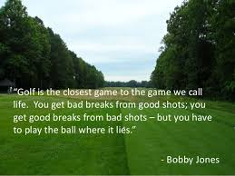 Golf And Life Quotes Stunning Inspirational Golf Quotes