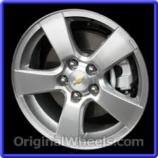 Chevy Cruze Bolt Pattern Enchanting OEM 48 Chevrolet Cruze Used Factory Wheels From OriginalWheels