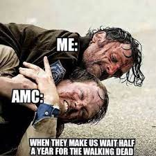 Meme mania first reached amc stock in january 2021. The Walking Dead Amc Memes Of The Walking Dead The Walking Dead Meme Twd Memes Dead Memes Spoilers Alerts Cheezburger