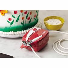 Cake Decorating Airbrush Kit Cake Boss Decorating Tools Airbrushing Kit Red Walmartcom
