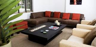 brown velvet sofa with red cushions feat rectangle black wooden within brown sofa with red cushions