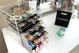 Amazing Acrylic Makeup Organizer With Drawers