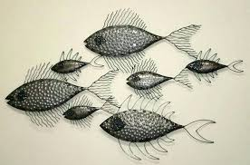 metal fish wall art florida keys