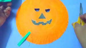 How To Make Face Mask From Chart Paper How To Make Halloween Creepy Pumpkin Mask Diy Easy Halloween Pumpkin Face Mask