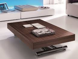 convertible coffee table dining table adjustable height  coffee