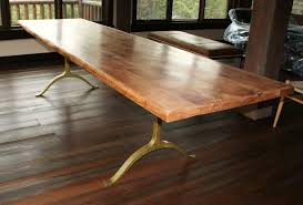 Rustic Dining Table Designs Handmade Rustic Dining Table By Echo Peak Design Custommadecom