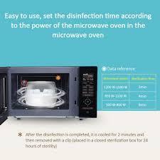 Bebek mikrodalga fırın şişe sterilizasyon kutusu dezenfeksiyon durumda  yüksek sıcaklık emzik sterilizatör şişesi Sterilizerl seti 2020|Dishwasher  Cleaner