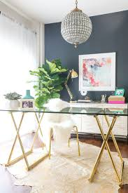 home office makeover pinterest. Extraordinary Before And After A Stars Glam Office Makeover Contemporary Home Decorating Ideas Pinterest