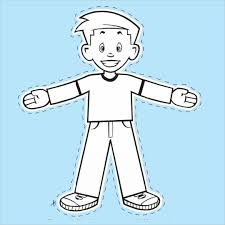 Flat Stanley Template Gorgeous Flat Stanley Template Blank Free Coloring Pages Pinterest Flat
