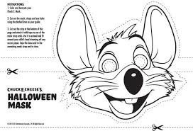 Chuck E Cheese Coloring Page Coloring Pages