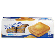 Entenmanns Minis Pound Cake Donuts Snack Cakes Meijer Grocery