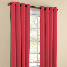 Maroon Curtains For Living Room Madison Room Darkening Grommet Curtain Curtains Drapes