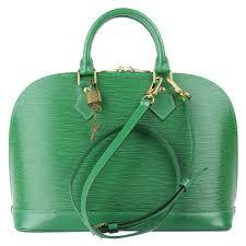 louis vuitton borneo green epi leather alma pm bag nextprev prevnext