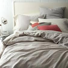 best linen duvet covers incredible flax linen duvet cover shams platinum west elm in grey linen