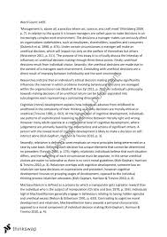 bba essay environment of the organisation and ethical decision bba 102 essay environment of the organisation and ethical decision making