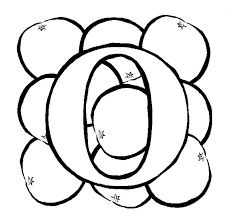 Small Picture Alphabet Coloring Pages O For Orange Alphabet Coloring pages of