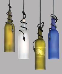 wine bottle lamp bottle lights