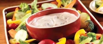 salsa ranch dip