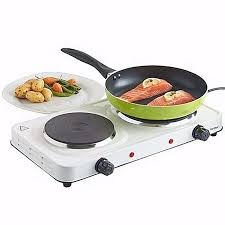 double burner hotplate portable stove heater countertop cooking electric cooktop cooker