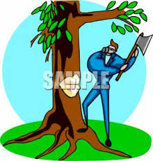 axe clipart tree cutting pencil and in color axe clipart tree