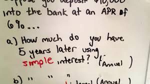 Compound Interest Chart Pdf Understanding Simple Interest And Compound Interest