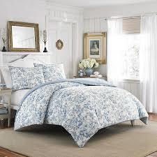 laura ashley brompton sophia blue comforter duvet set