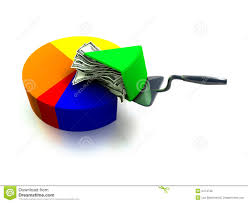 Money Pie Chart Stock Illustration Illustration Of Report