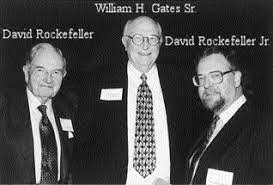 Thread by @BlueSkyEpistle, Bill Gates father with the Rockefeller'sBill  Gates Father was the head of [...]