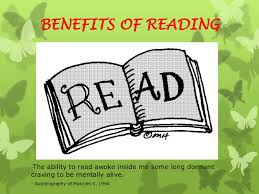 ie presentation on the benefits of reading