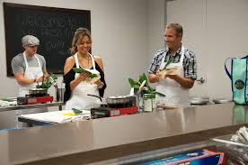 Kitchen Space Fresh Fit Cooking Class At The Hood Kitchen Space In Costa Mesa