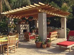 image of gazebo outdoor fireplace designs