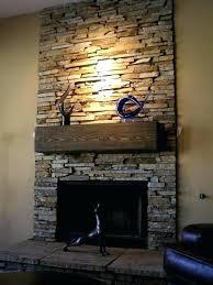diy stacked stone fireplace surround stone fireplace surround photo 2 of 8 stack stone fireplace surround