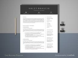 Resume Template 4 Page Finance Cv Resume Templates Creative
