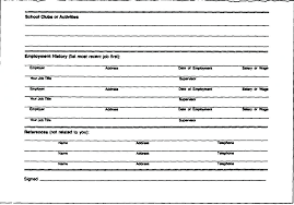 how to fill out resume resume blank forms to fill out foodcity me