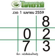 Bloggang.com : cartoonthai - เลขเด็ดไทยรัฐ ประจำงวด 1 เมษายน 2559